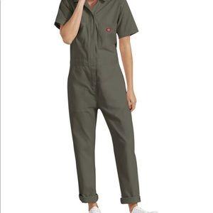 🎃👻Halloween Dickies Jumpsuit+Coveralls+Moss Green+Insta+wear again costume+S